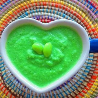 代謝が落ちたと感じる人に。枝豆&小松菜豆乳ポタージュレシピ