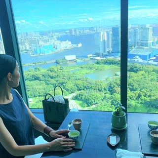CONRAD東京「風花」日本料理・創作和食で女子会ランチ