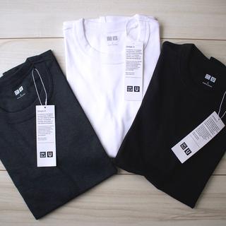 【UNIQLO U】ベーシックカラーのTシャツを新調。