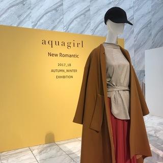 """今年流行りでも永く使える""""aquagirl""""の花柄とチェック♡"""