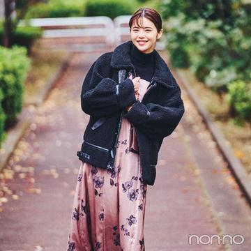 鈴木ゆうかの冬私服♡ カジュアルなのに女っぽが加速するコーデ!