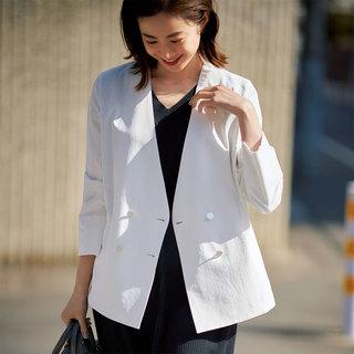 ジャケットからワンピースまで!きれいめ仕事服は、着回し自在のM7daysにおまかせ!