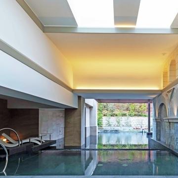 『ウェスティン都ホテル京都』に天然温泉を利用した温浴施設SPA「華頂」がオープン