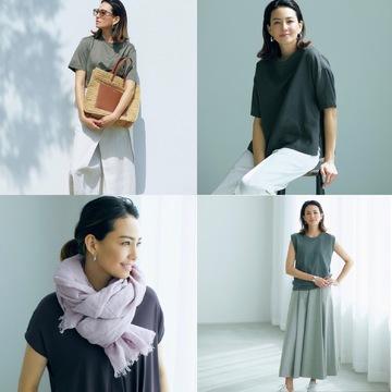 涼しい素材&デザインだけ!信頼ブランドの「真夏も快適」な服