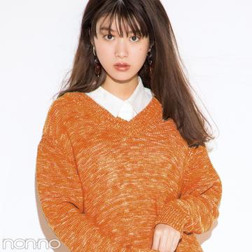 ビッグシルエットが今っぽ♡ ユニクロのニットワンピ【今→春着回しコーデ】