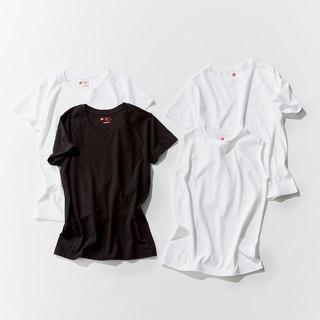 ベーシックでも女っぷり!アラフォーに最適なものだけを厳選したTシャツNEWS