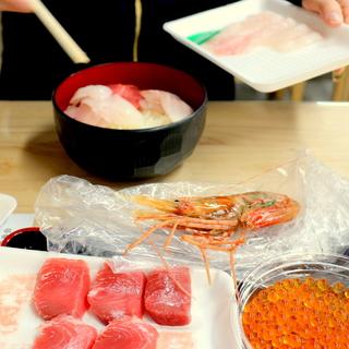 大好きな街、仙台へ①~塩釜仲卸市場でのっけ盛りっ!MY海鮮丼~_1_2-2