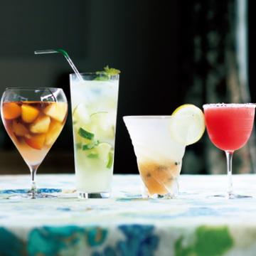 人気のフルーツレシピを大人の味わいに!夏のウェルカムドリンク<夏の午後のおもてなしレシピ>