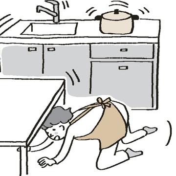 外で、家の中で、地震! そのときどうすべき? 取るべき行動 五選