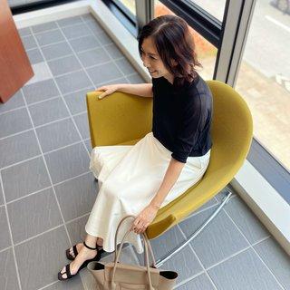 マリソルを参考に白&黒コーデ♡《ゆっこのファッション》