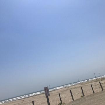 [富岡佳子private life]九十九里浜