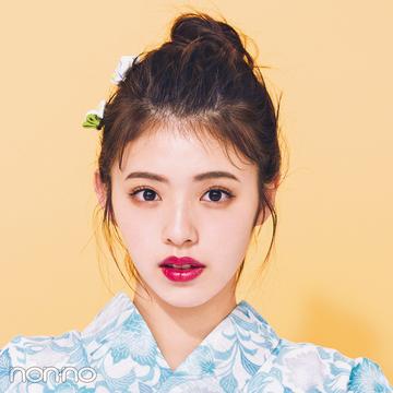 ゆかたのヘアアレンジ・ロングのおだんご+色っぽ後れ毛編♡ 【2019年ゆかた特集】
