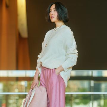 優美なパンツで手持ち服が見違える!検証3コーデ【春、注目したい「優美なパンツ」】