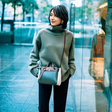 【富岡佳子 ファッションは私の生き方です。】プラダのパンツで自分らしさを表現