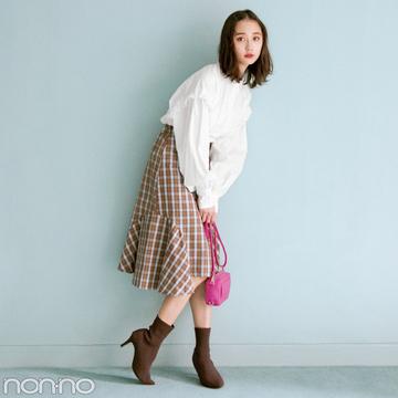 今ドキ韓国ファッション、色っぽ揺れ感のマーメイドスカートがブーム!