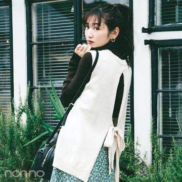 2019秋冬トレンド★ ニットベストで差をつけたい! ひとテクデザイン6選