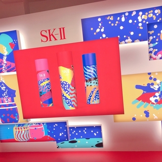 来年1/24まで開催中!「SK-II ワンダーランド」でAR体験&肌年齢診断【マーヴェラス原田の40代本気美容 #51】