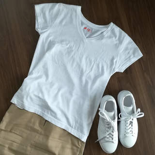 私の白無地Tシャツ決定版はこれ!_1_3