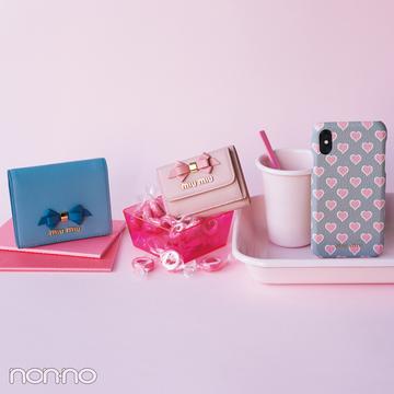 大人可愛いの大本命♡ ミュウミュウのミニ財布をチェック!【20歳からの名品】