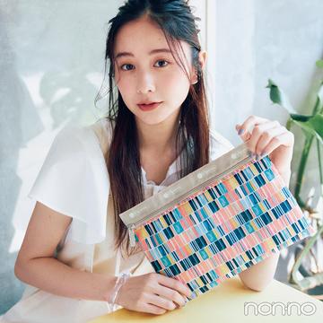 【レスポートサック×ノンノ】nonno9月号特別付録はカラーパレット♡ポーチ
