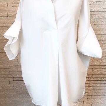 プラージュの白シャツの着こなし
