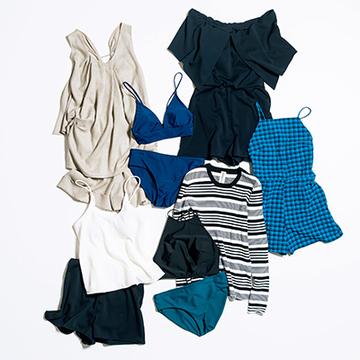 洋服のように着られる水際アイテムが充実「någonstans」の水着【今こそ大人の水着、再デビュー】