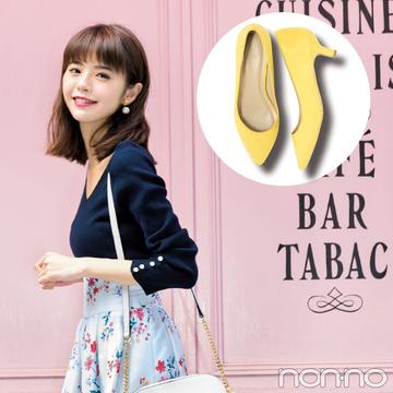3000円以下で盛れる! アミアミ、ユニクロetc.ヒール低めの女っぽきれい色パンプス5選!