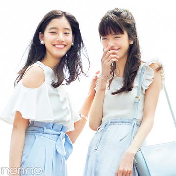 男子モテも女子モテもOK★夏の「白×ブルー」コーデ最新はコチラ!