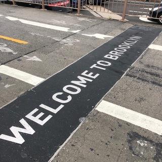 初ブルックリン上陸。