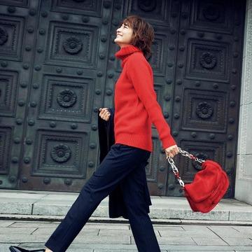 大人を元気に見せてくれる色、「赤」をまとって冬の街へ出かけよう! 五選