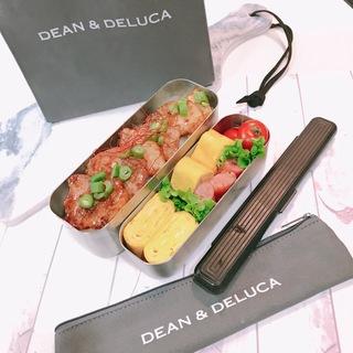 DEAN&DELUCAランチバッグとカトラリーケース♡