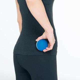 <ひっこめ!腹肉・腰肉>Step1筋膜をほぐして、外側の筋肉を緩める・下半身編