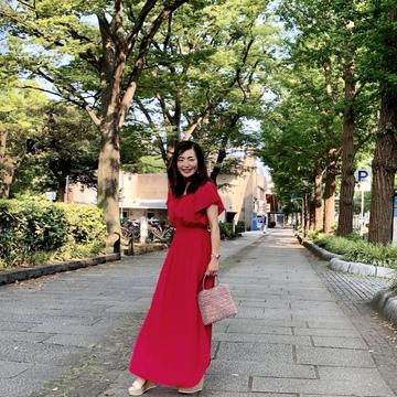 真っ赤なワンピースを着て横浜へ♪_1_8-2