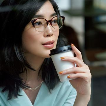 機能とデザイン、どちらも叶えるメガネ