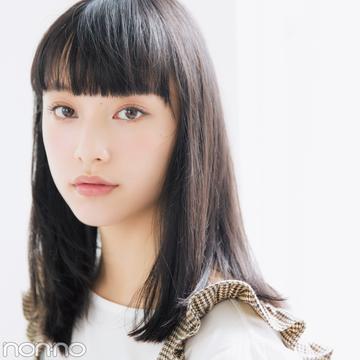山田愛奈、20cm髪を切る! 小顔前髪&透明感カラーのお手本ヘアスタイル♡