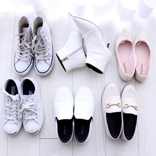 白い靴大好き!