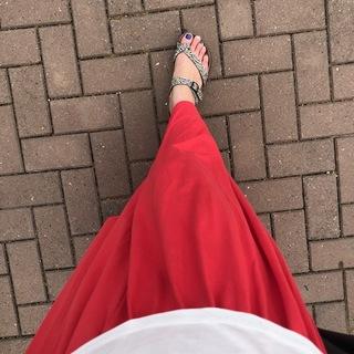 色違い全部買い!ふんわりスカートはユニクロプチプラで!
