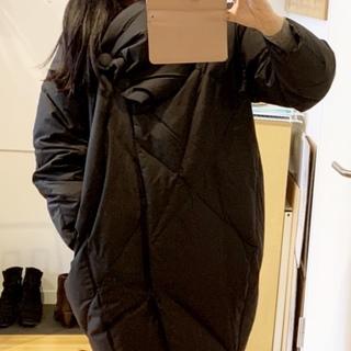 寒い日のお出かけは、コクーンコートで暖かく!