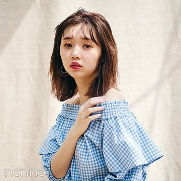 #マイベストイレブン★江野沢愛美のUNIQLO&GU夏モテコーデ
