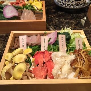 【レストラン】きのこ鍋/Shangri-La's secret