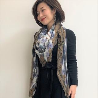 """私のお気に入りの名品""""VASSILISAのスカーフ"""""""