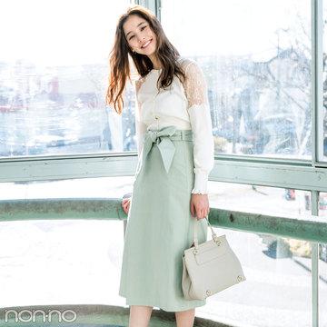 春一番に買うのはコレ! きれい色スカート2018♡ 最新コーデ4選!