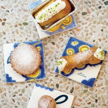 北イタリアとシチリアで修業した女性パティシエのイタリア郷土菓子店『Litus』