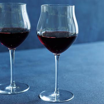 ワインの味はグラスで変わる。赤ワイン&シャンパンを楽しむグラス【秋の「自宅バー」計画】