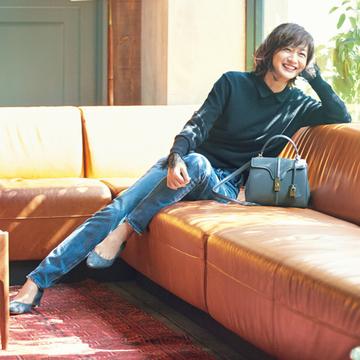 【富岡佳子のプライベートスタイル6選】私の新しい日常服、 変わらない好きな服