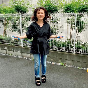 【50代からのダイエット】中島彩さんは運動&ダイエットギア&デトックスティーを総動員!
