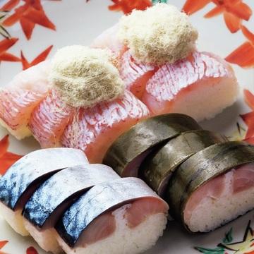 """手元に届くときが食べごろ!京寿司 いづ重「鯖姿寿司」「甘鯛姿寿司」【自宅で楽しむ""""新しい京都""""】"""
