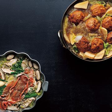 残りがちな白菜を使い切りたいときにおすすめ!「獅子頭鍋」&「せん切り野菜のしゃぶしゃぶ」