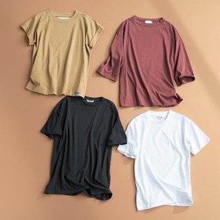 二の腕が気になる色白スタイリスト吉村友希さんが選ぶ4つのTシャツ