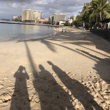 [富岡佳子private life]お正月の特番収録、ハワイロケ